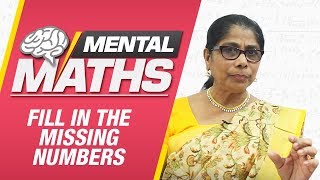 Learn basic of mental Maths for beginners | Fill in the missing number | Maths Trickss