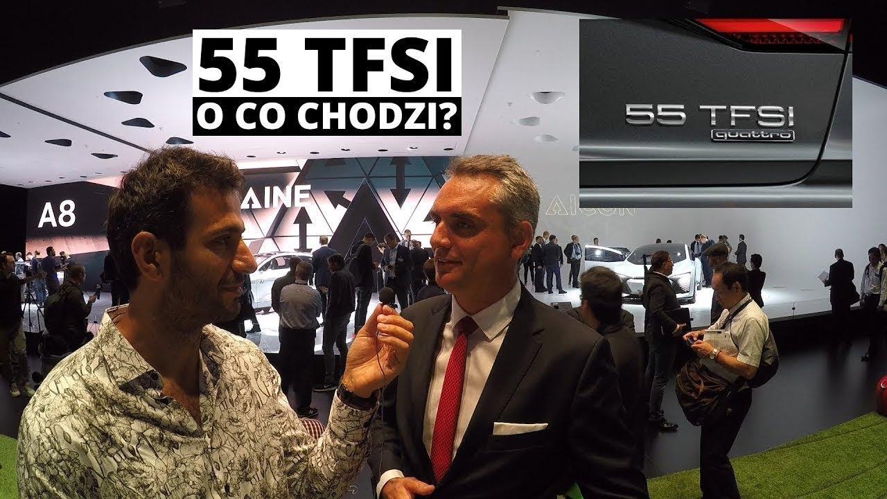 55 TFSI – o co chodzi Audi? Prawie na żywo z IAA – Zachar OFF