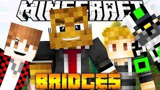 Minecraft Bridges PVP - DIAMONDS FOR THE WHOLE SQUAD