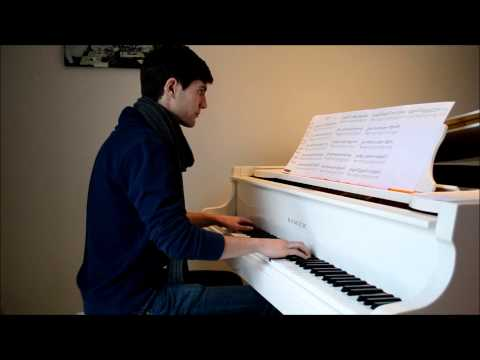 James Arthur (Shontelle) - Impossible - Piano cover - SHEETS in description