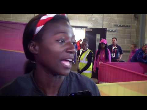 Tori Bowie Talks About Being and Dreaming of Being 100m World Champion
