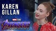 Karen Gillan talks Nebula's Journey LIVE from the Avengers: Endgame Premiere