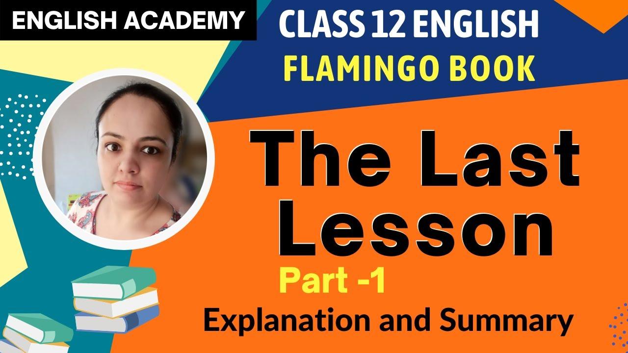Flamingo Book Class 12