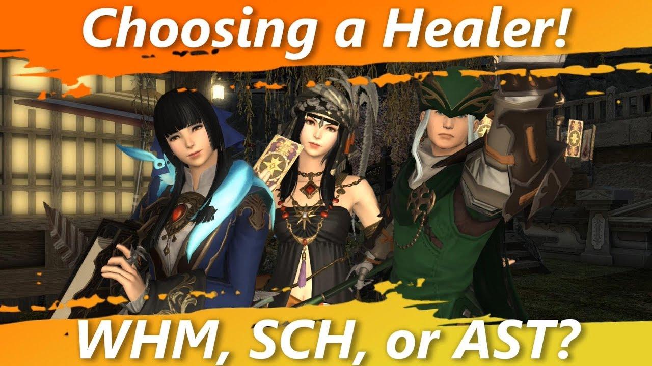 Choosing a Healer! White Mage, Scholar, or Astrologian? [FFXIV Fun]