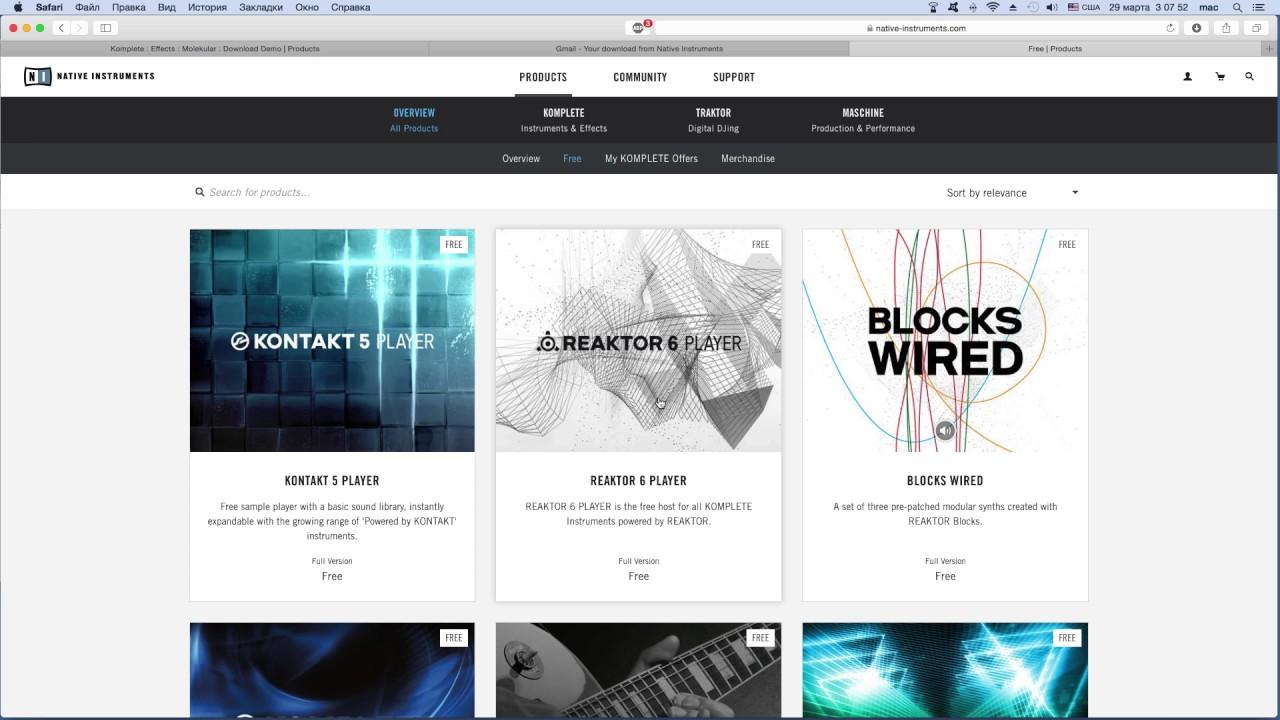 reaktor free download mac