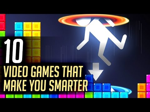 10 Video Games That Make You Smarter