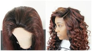 How To Lay Your Lace Closure | Make Your Wig Look Natural