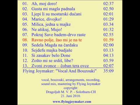 ex-yu folk songs for vocal and bouzouki only - by Flying Joymaker
