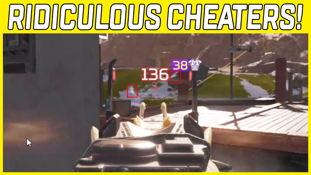 Spectating A Cheater Team Destroy Apex Legends Ranked Lobbies With Rapid Fire Scout Hacks