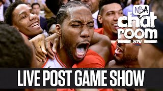 Clippers-Raptors Live Post-Game Show | NBA Chatroom