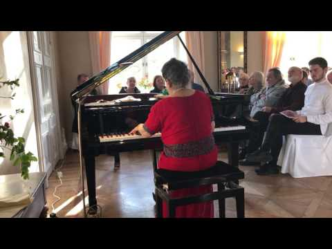 Marcella Crudeli  plays  F. Chopin: Etude op.10 n.12 - Concert in berlin