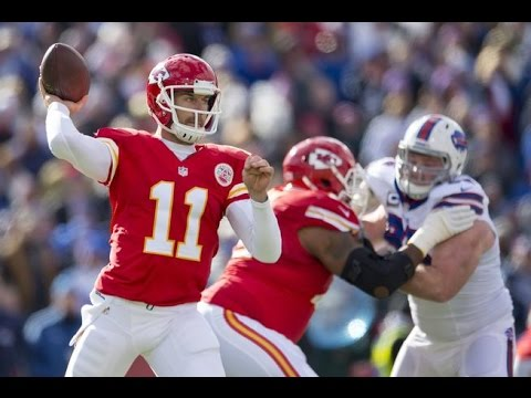 Alex Smith Dismantles Bills (NFL Week 12 2015) - 255 Yards + 2 TDs!