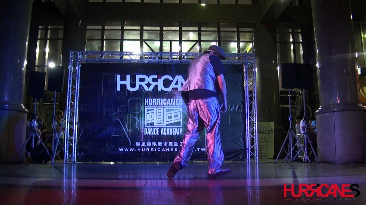 2012-07-06 颶風街頭秀 | 阿龍老師 - YouTube
