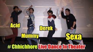 Chhichhore Team LIVE Masti Inside Theater With LIVE Audience | Varun Sharma, Tahir Raj Bhasin