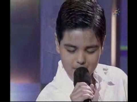 Abraham Mateo (10 años) - Mi Consentida -  Menuda Noche