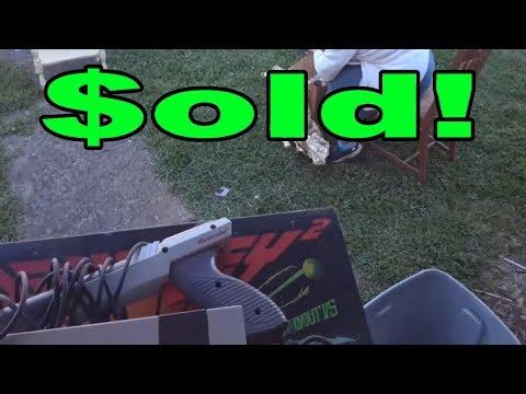 Live Flea Market/Yard Sales Video Game Hunting! Ep. 39 - Sold! - Pickups!