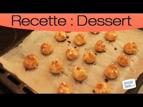 Cours de cuisine recette de p te choux youtube - Pate a choux herve cuisine ...