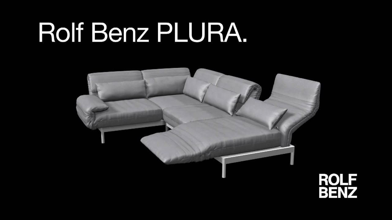 rolf benz plura more than a sofa youtube. Black Bedroom Furniture Sets. Home Design Ideas