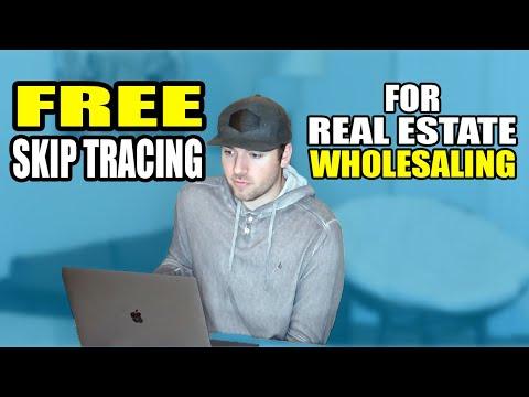 Wholesaling Real Estate | FREE Skip Tracing