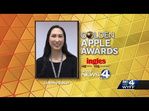 Monaview Elementary School teacher wins Golden Apple award
