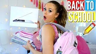 Back To School Haul + HUGE GIVEAWAY! MacBook, School Supplies & More!