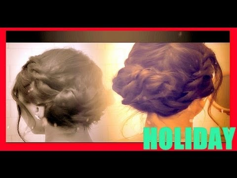 ★-holiday-hairstyles:-how-to-french-rope-braid-twist-updo-hair-tutorial-for-medium-long-hair-video