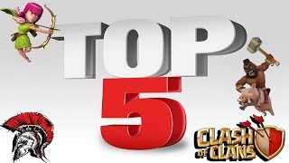 Clash Of Clans - TOP5 War#280 - SoW vs g7j