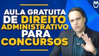 Direito Administrativo: Prof. Fabiano Pereira
