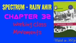 Chapter 32 - Working Class Movements