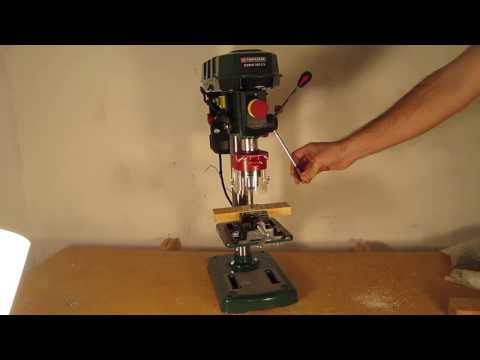 Brand New Drill Press Parkside Ptbm 500 C3 Youtube