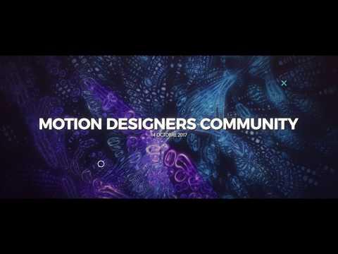 Trailer - Événement Motion Designers Community !