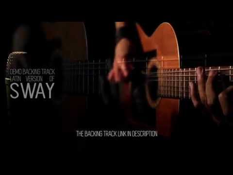 sway latin demo guitar backing track
