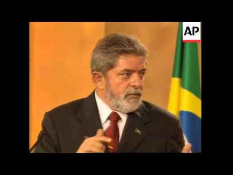 Brazilian presidents visits, meets PM