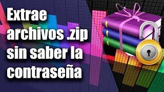 Como Descomprimir archivos Winrar [ZIP] Protegido por Contraseña [2018]