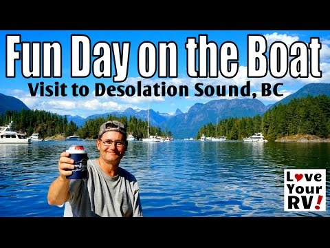 Boating Trip to Refuge Cove and Desolation Sound BC
