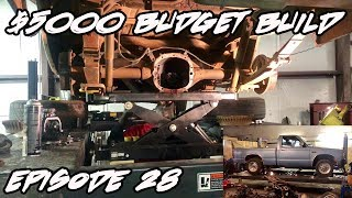 JMALCOM2004 $5000 BUDGET BUILD EPISODE 28: INSTALLING THE NEW REAR END PARTS