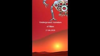 Фильм: Подземные Монстры Марса. Научная Фантастика, Триллер, Драма (2020г)