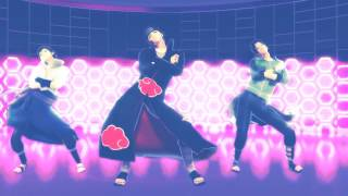 [MMD x naruto] Gentleman [Uchiha family]