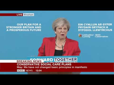 Theresa May Meltdown