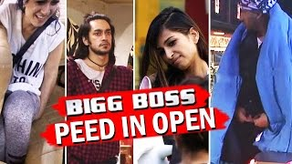 7 TIMES Bigg Boss Contestants <b>PEED</b> in OPEN!