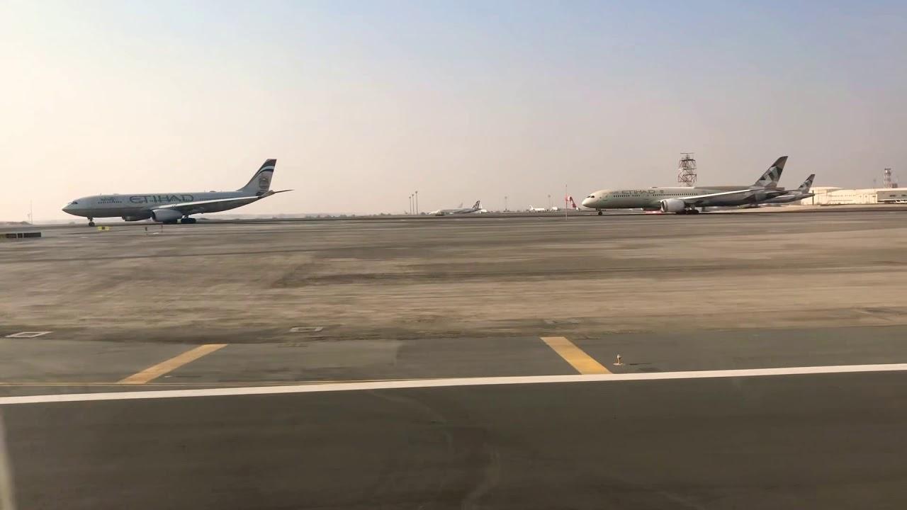 Departing Abu Dhabi 21/12/18 EY41