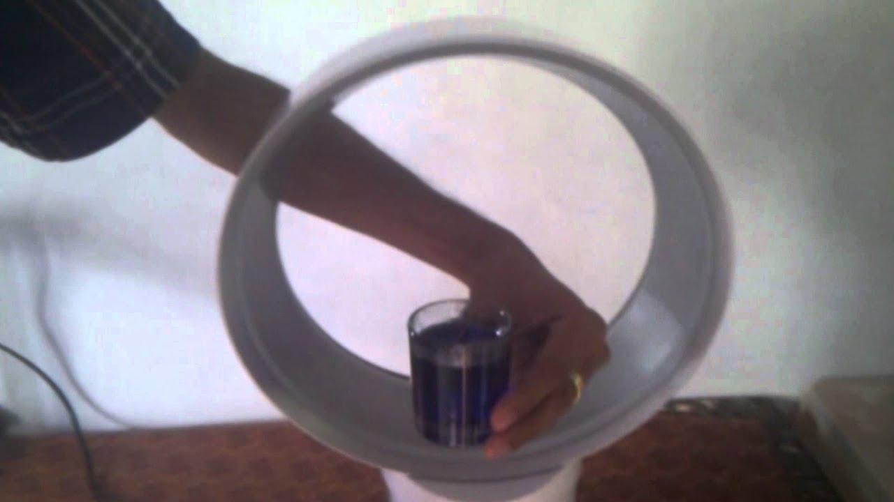 Dyson Bladeless Fan Working Principle How It Works Youtube