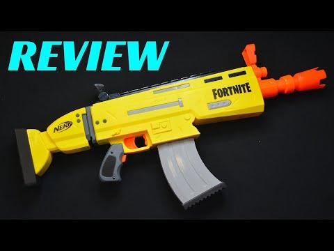 [REVIEW] NERF FORTNITE AR-L SCAR