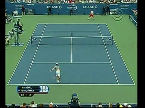 Andy Murray Vs Rafael Nadal Us Open Highlights Part one