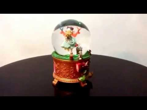 Sleeping Beauty Snow Globe Music Box