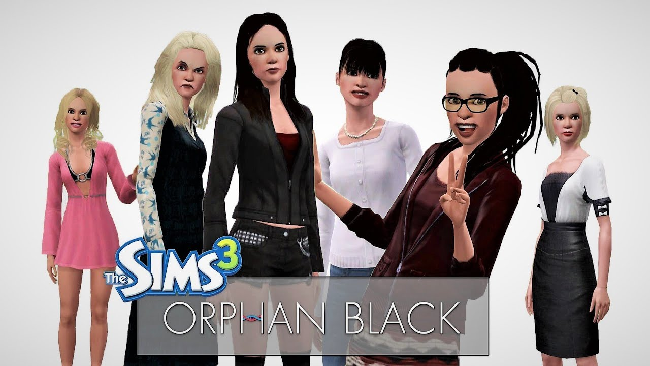 The sims 3 orphan black sestra 39 s family download youtube for Schaukelstuhl sims 3