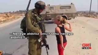İsrail askerlerine kafa tutan Filistinli kız konuştu