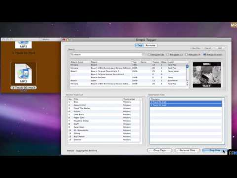 Tag MP3 files based on Amazon database Free on Mac-MR