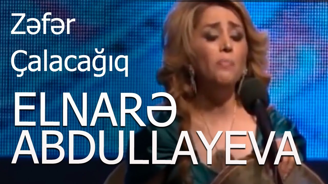 Elnare Abdullayeva - Azerbaycan Cengisi ( Saray Konsert)