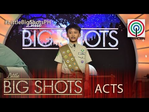 Little Big Shots Philippines: Steven | 11-year-old Boy Scout